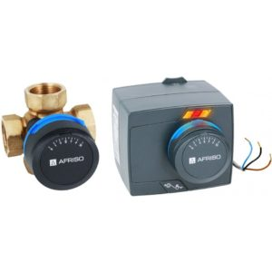 termostatyczny zawór czterodrogowy do co cwu
