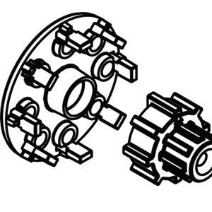 zestaw montażowy afriso do systemu proclick