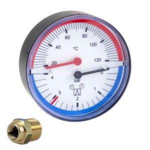 termomanometr poziomy