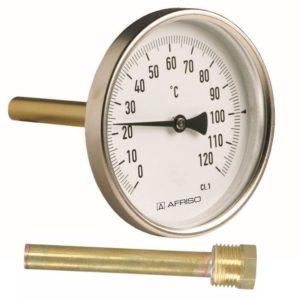 termometr bimetaliczny aksjalny