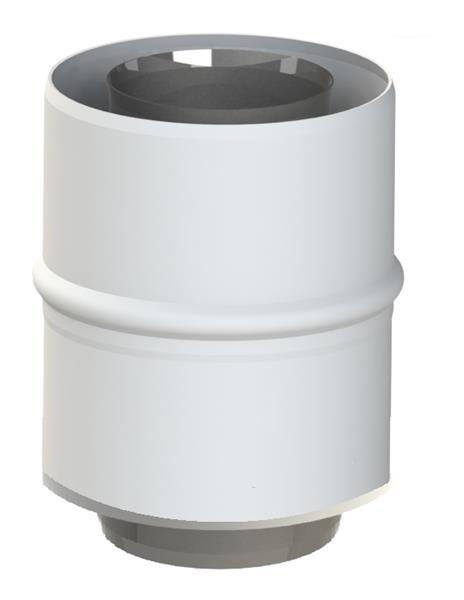 Adapter 60/100-60/100 do kotła Ariston Jeremias TWIN1820201060100