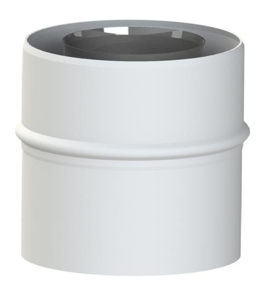 Adapter 60/100-60/100 do kotła Broetje Energy Top (Turbo) 24 TE, 24 CTE, 28 CTE Jeremias TWIN1820401060100