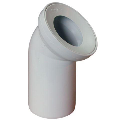 Kolano do WC 110/45 B501 [15/op] Rawiplast B501
