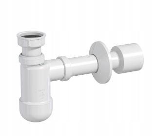 Półsyfon umywalkowy PRELOC 230, fi 32/50, rurka odpł. z rozetą [35] Rawiplast 1710018
