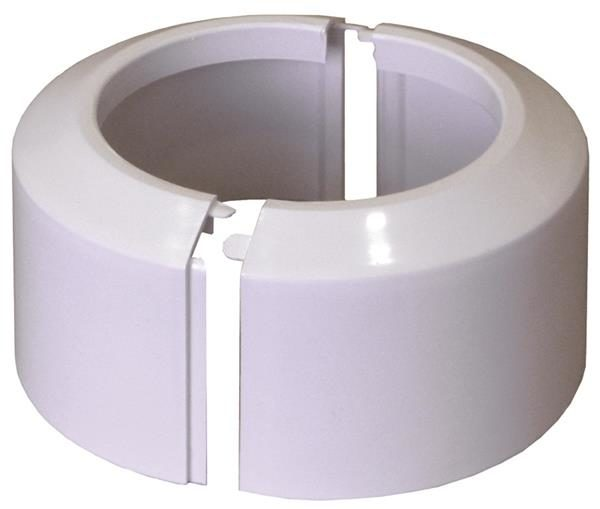 Rozeta dzielona 110 do kolan i króćców przyłączeniowych do WC [20/op] Rawiplast B511