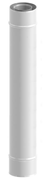 Rura 1000 mm 80/125 malowana Jeremias TWIN02080/125