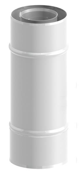 Rura 250 mm 60/100 malowana Jeremias TWIN04060/100