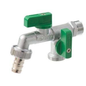 Zawór czerpalny woda NANO DOUBLE MAC 1/2X3/4×3/4 [30] Arco 00472