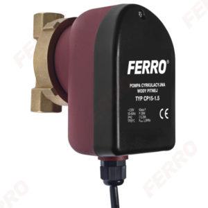 Pompa do cyrkulacji c.w.u. typ CP15-1.5 Ferro 0101W