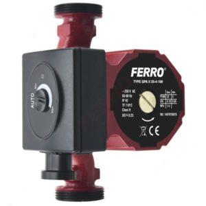 Pompa elektroniczna obiegowa do instalacji grzewczej i solarnej GPA II 25-4-180 Weberman Ferro 0601W