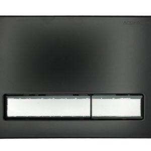 Przycisk do stelaża czarny mat/chrom mat KK-POL SPP/102/0/K